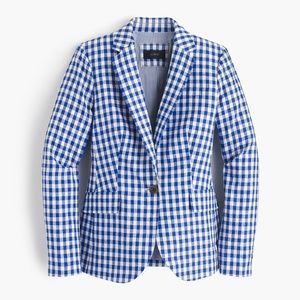 J. Crew Campbell blazer in gingham